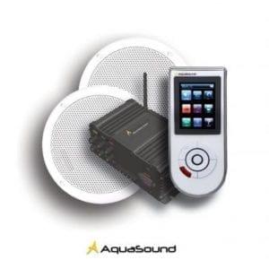 Badkamer TV en audio